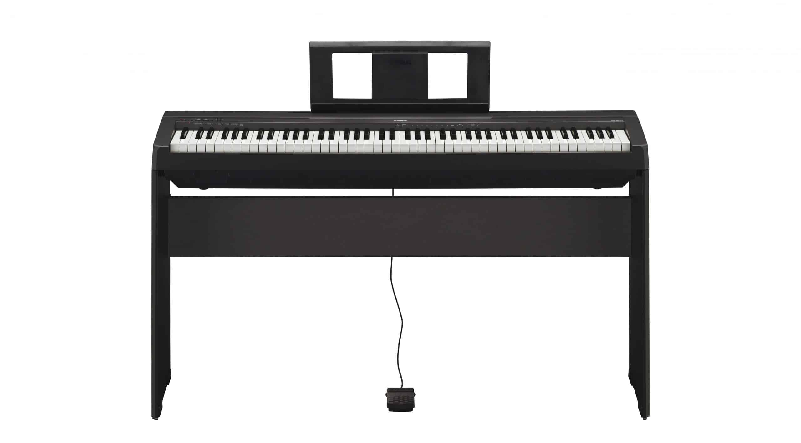 Yamaha P45 Review [A Compact Digital Keyboard with 88-Weighted Keys]