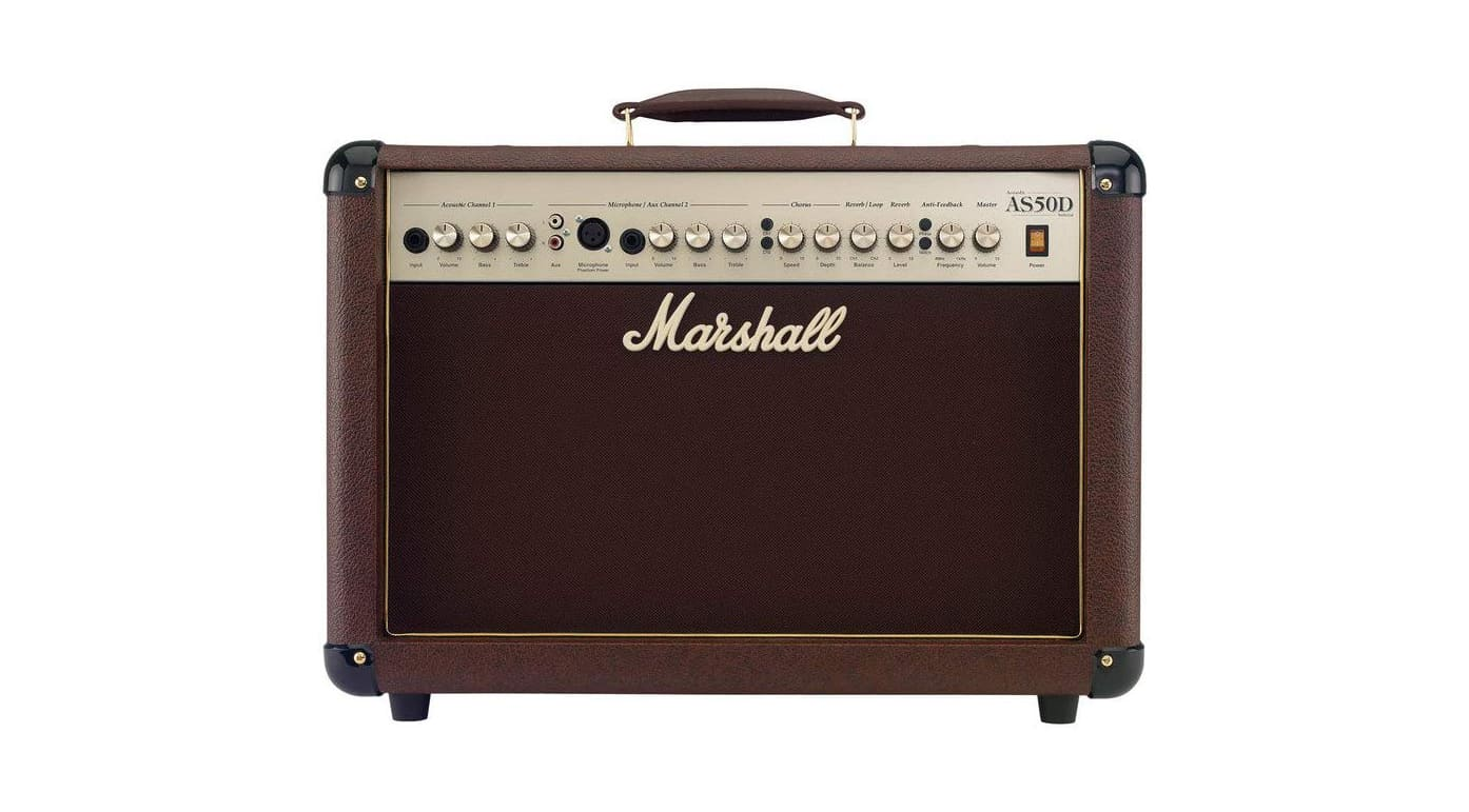 Marshall AS50D Acoustic Guitar Amplifier Review