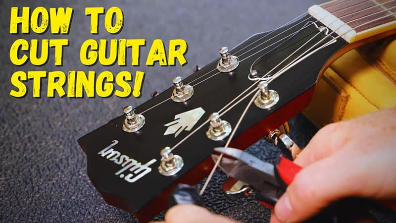 How to Cut Guitar Strings